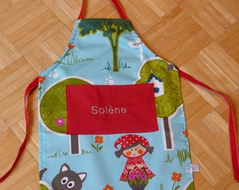 Cute apron personalized for child or adult... perfect Christmas gift...