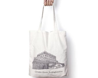 Cliveden House, Buckinghamshire tote bag