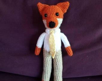 crAFty Characters: Fantastic Mr. Fox handmade doll, Roald Dahl, Classic Children's books, Baby nursery collection