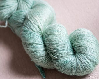 Athena: Lace weight 100% BFL - hand dyed yarn