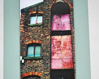 Abstract Art Photo in Mount - Liverpool Industrial Warehouses