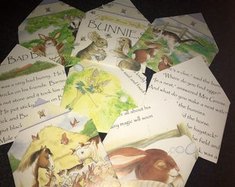 Bunny envelopes set of 8