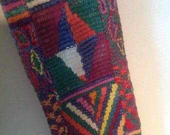 Guatemalan Woven and Embroidered Faja/Sash from Nebaj Community