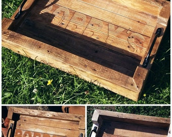 Rustic Chunky Tray PERSONALISED