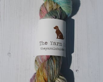 "4 ply "" The Conch "" hand dyed MCN sock yarn."
