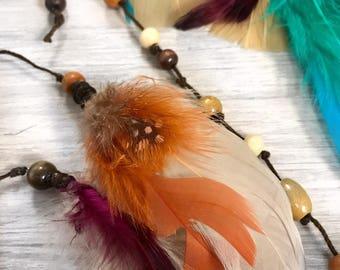 Fox • Trot Feather Headband