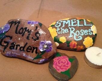 Hand Painted Decorative Stones