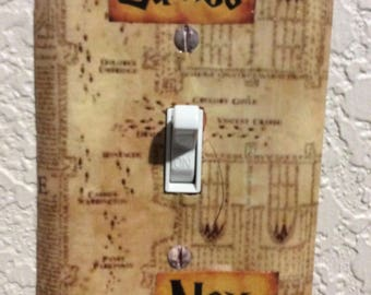 Harry Potter lightswitch cover