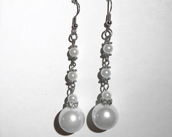 Beaded Drop Earrings!