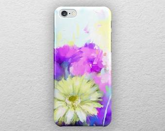Floral iphone 8 case, iphone 8 plus case, Watercolor iphone 7 case, iphone 7 plus case, iphone 6s case, iphone 6s plus case, iphone 6 case