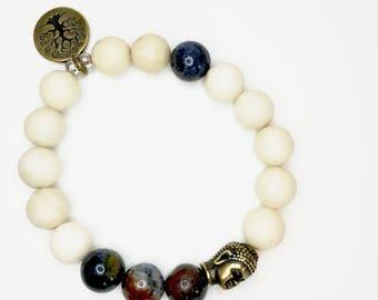 Gemstone Balance Bracelet!