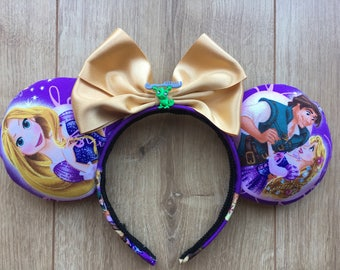 Rapunzel ears inspired by Tangled