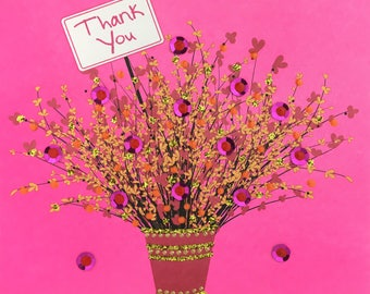 Pink Thank You Bouquet