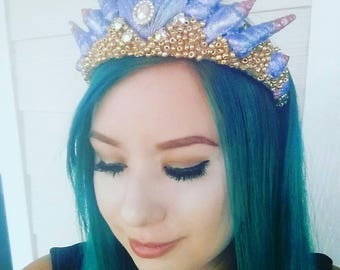 On sale Large Ombre mermaid crown