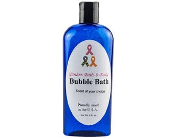Sensual Amber Scented Natural Bubble Bath Free Shipping