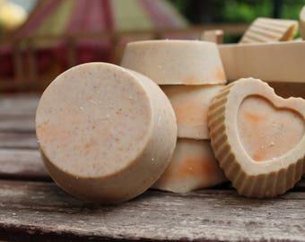 SOAP bars Orange and cinnamon