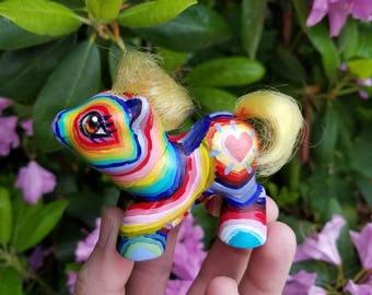 My little pony repaint, vintage my little pony repaint