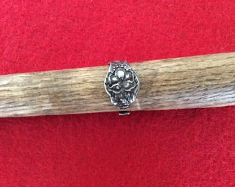 Antique silver spoon ring