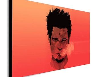 Tyler Durden - Fight Club Movie - Brad Pitt Canvas Wall Art Print - Various Sizes