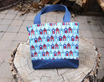 Insulated Lunch Bag Houses Pattern