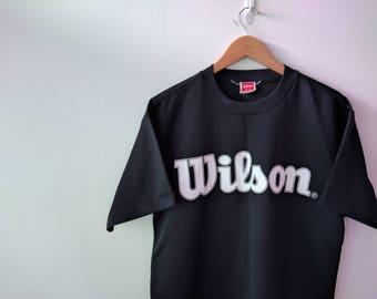 Vintage 90s Wilson Sport Cotton T-shirt