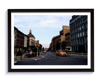 Fine Art Photography of New York City. Framed Print for Wall. New York City Poster for Interior Design.