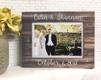 Personalized Wedding Frame• Personalized Engagement Frame• 5x7 Frame• Personalized Wedding Gift• Engagement Gift• Personalized Wedding Frame