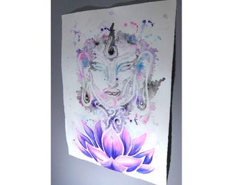 Find Your Zen- Buddha Painting