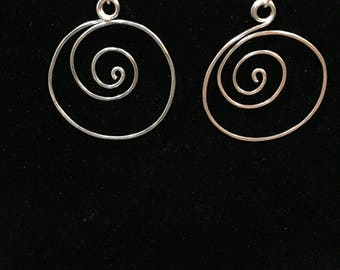 Small Spiral hoop