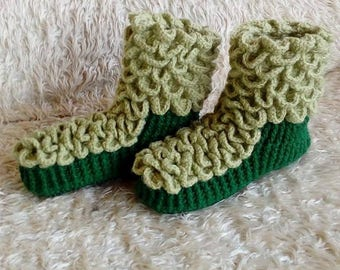 Comfy cotton slippers