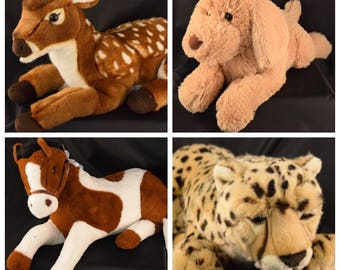 Sensory Animals- Weighted stuffed animal- Autism toys- SPD- Weighted Toys- Lap Pad Toys