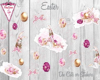 Easter - Die Cuts / Sticker Set
