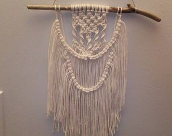 Small macrame tapestry