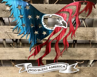 Freedom In Flight Metal Wall Art