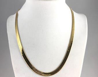 Classic Herringbone necklace