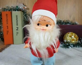 Vintage Christmas Dwarf Ornament