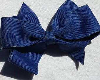 Dark Blue Barrette