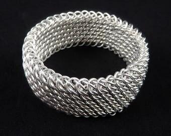 Stunning Chainmaille Cuff