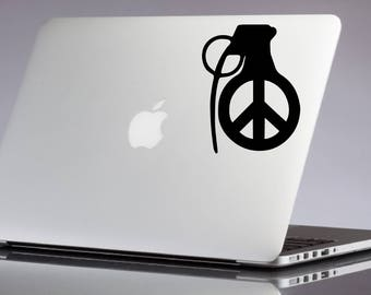 Make Love Not War Vinyl Decal
