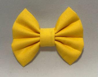 Sunshine Day - Fabric Barrette Bow