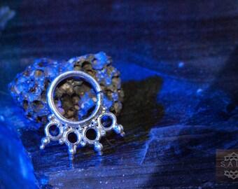 Handmade silver heart ring. 925