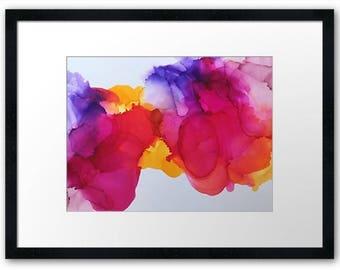 Rae Abstract print