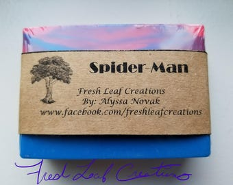 Spider-Man Soap