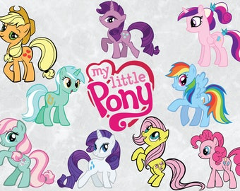 My little pony vectors | SVG cut file | 300 PPI