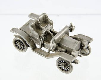 Danbury Mint Pewter Car Collection 1911 Buick Model Car