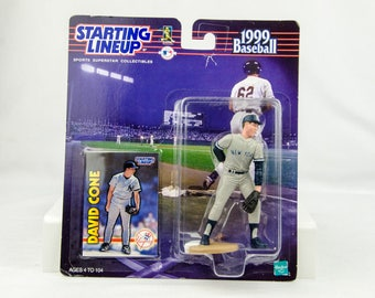 Starting Lineup Baseball 1999 David Cone Action Figure NY Yankees