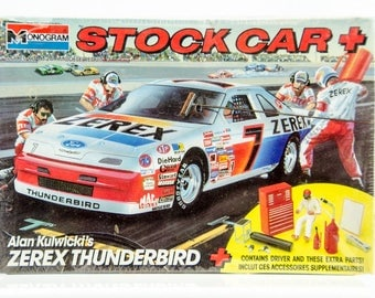 Monogram Stock Car Alan Kulwicki's Zerex Thunderbird 1/24 Scale Stock Car 2908