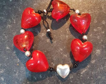 Just love this heart bracelet