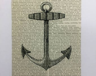 Anchor Book Page Art