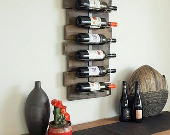 Pallet timber Wine Rack - Refined Pallet